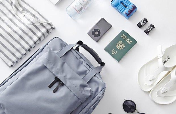 Вместительный рюкзак  для коротких путешествий. Изображение № 4.