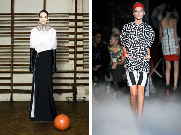 Givenchy Couture SS 2012 / Jean-Charles de Castelbajac SS 2012 . Изображение № 70.
