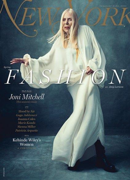 New York Magazine поставили на обложку номера Джони Митчелл. Изображение № 2.