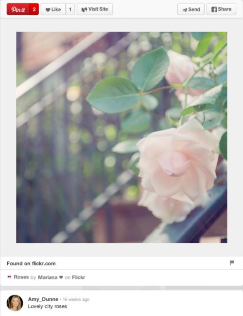 У главной героини фильма «Исчезнувшая» появился личный Pinterest. Изображение № 4.
