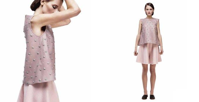 Платья в бельевом стиле в лукбуке KamenskayaKononova. Изображение № 24.