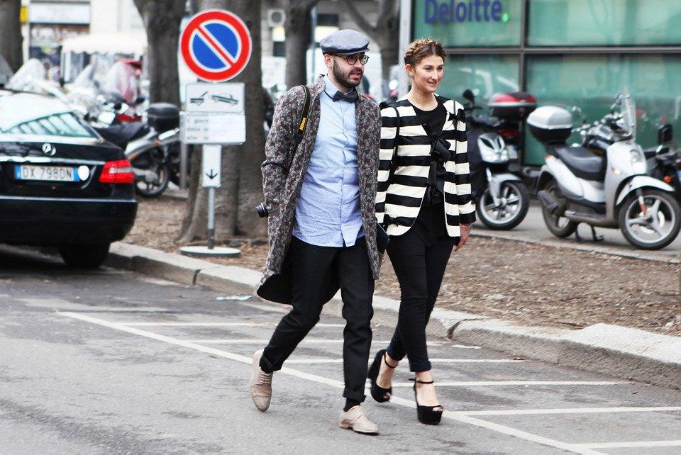 Анна Делло-Руссо, Элеонора Каризи и другие гости Миланской недели моды. Изображение № 16.