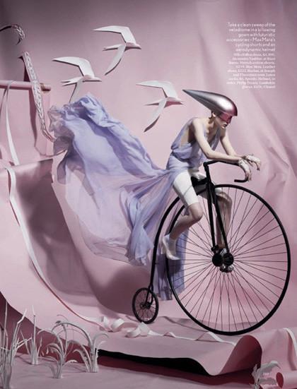 Ах, лето: Фэшн-съемки с велосипедами. Изображение № 8.