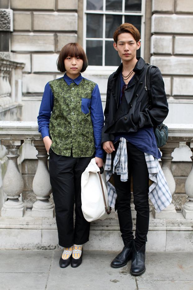 Streetstyle: Неделя моды в Лондоне, часть 1. Изображение № 4.