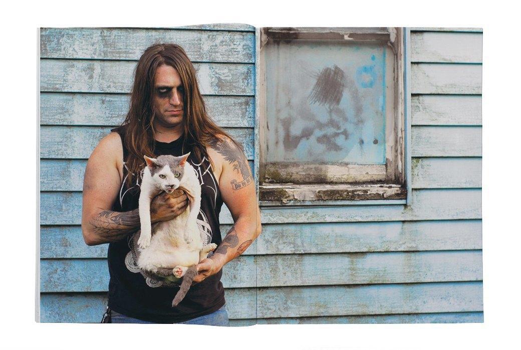 Фотоальбом «Metal Cats»  с котиками и металлистами. Изображение № 3.