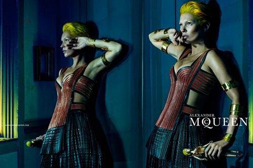 Кейт Мосс стала новым лицом Alexander McQueen. Изображение № 8.