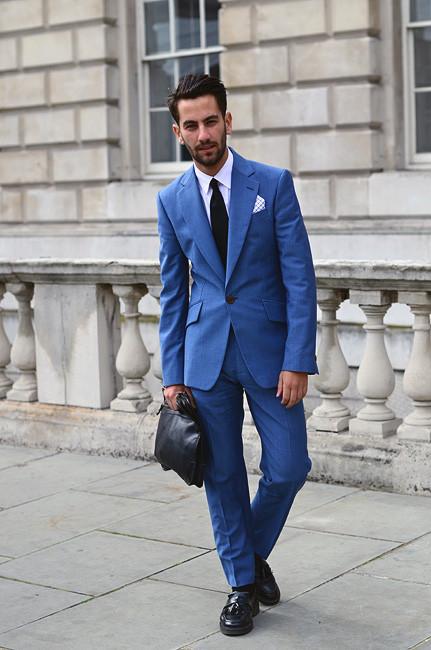 London Fashion Week: Уличный стиль, часть 1. Изображение № 18.
