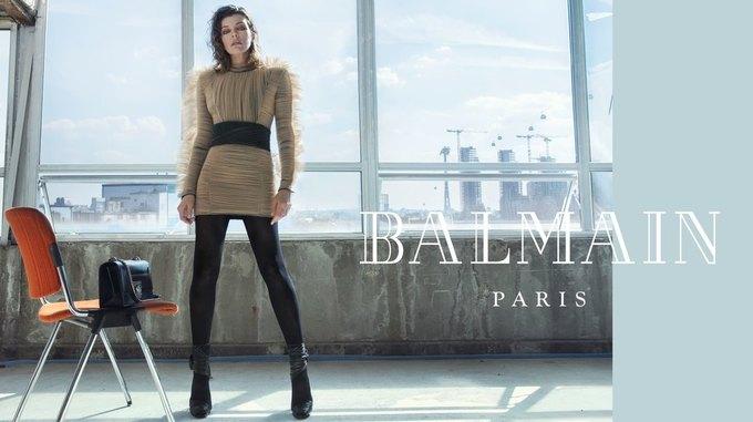 Милла Йовович стала новым лицом Balmain. Изображение № 6.