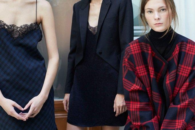 Объемные пальто и клетка в осеннем лукбуке Zara. Изображение № 1.