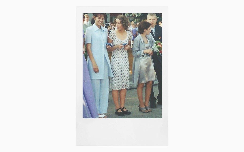 Вспомнить всё:  Девушки о своих  выпускных платьях. Изображение № 7.
