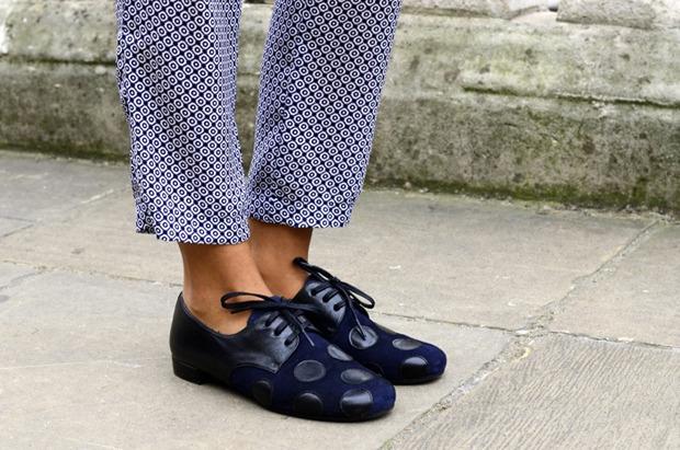 Streetstyle: Неделя моды в Лондоне, часть 2. Изображение № 17.