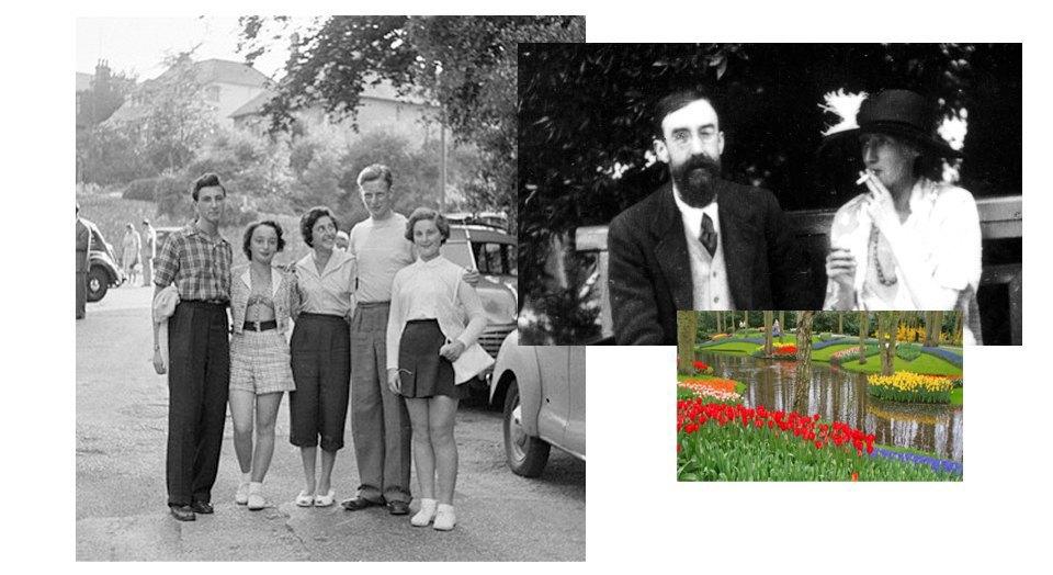 Группа Блумсбери, Британия 1950-х, Сады. Изображение № 4.