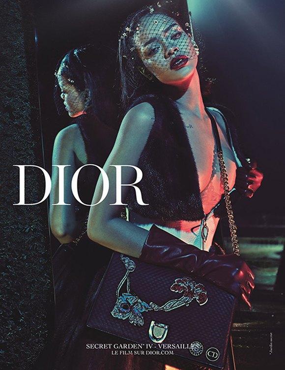 Dior показали рекламную кампанию с участием Рианны. Изображение № 5.