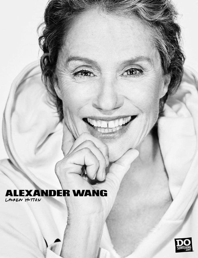 В новой рекламной кампании Alexander Wang снялись 37 звезд. Изображение № 5.