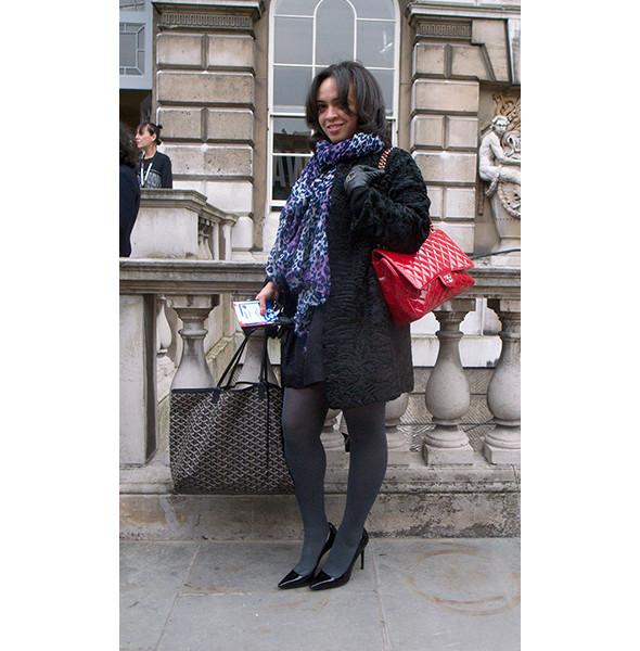 London Fashion Week: день первый — луки. Изображение № 14.