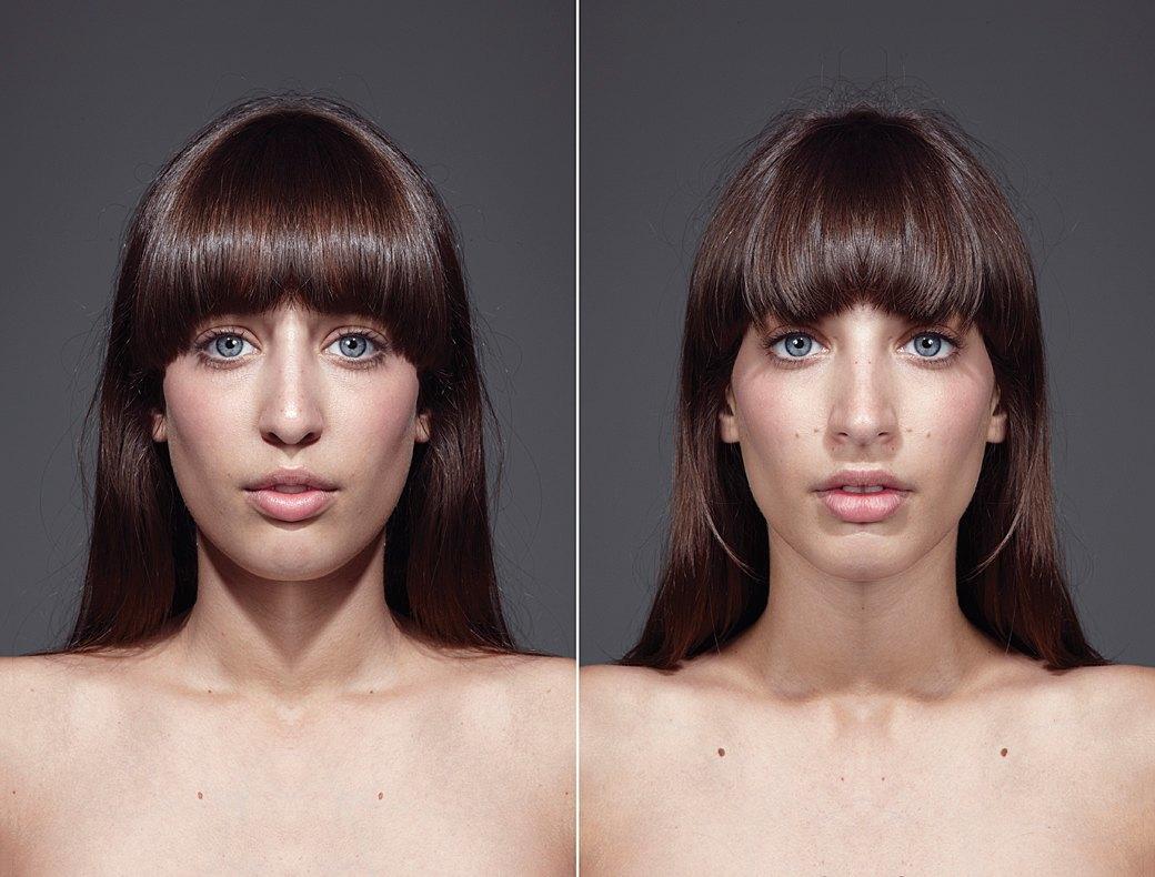 «Симметричные портреты»:  Два человека в одном. Изображение № 5.