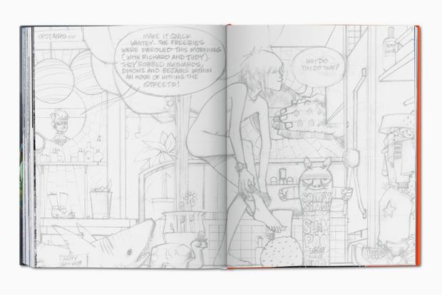 Артбук создателя Gorillaz Джейми Хьюлетта. Изображение № 6.