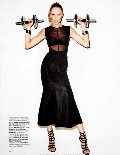 Съемка Терри Ричардсона для американского Harper's Bazaar . Изображение № 45.