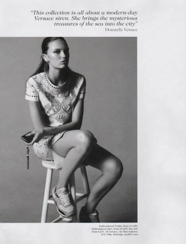 Съемка из британского Vogue, февраль 2012. Изображение № 52.