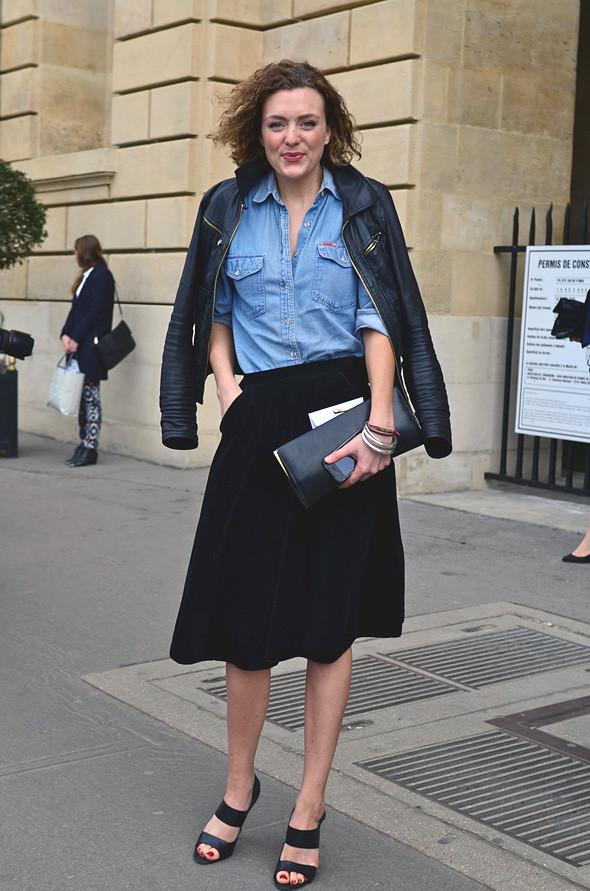 Неделя моды в Париже: Streetstyle. Изображение № 5.