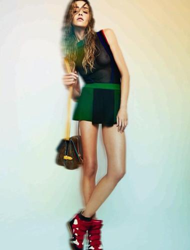 Ана Беатриc Баррос для бразильского Harper's Bazaar, февраль 2012 . Изображение № 29.