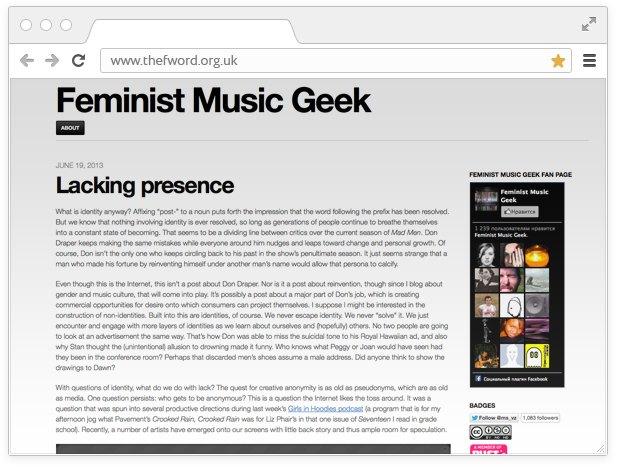 Боевой листок:  10 сайтов для девушек  с активной позицией. Изображение № 16.