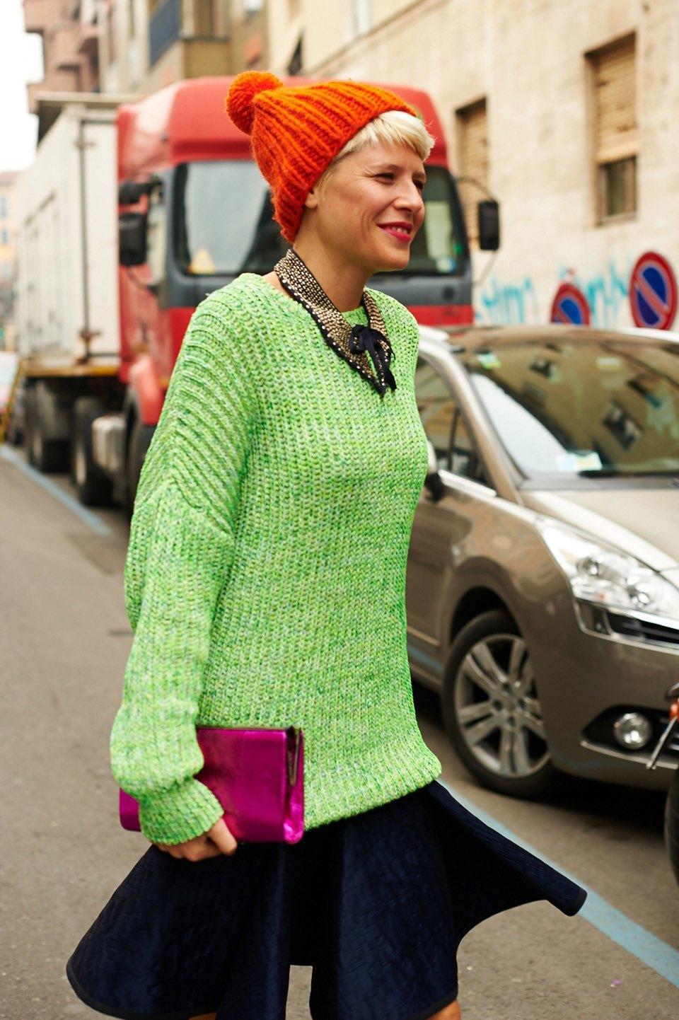 Стритстайл:  Неделя моды в Милане,  часть I. Изображение № 14.