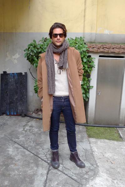 Milan Fashion Week: день четвертый – луки. Изображение № 22.