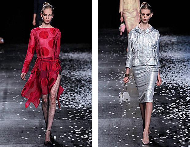 Неделя моды в Париже: Показы Balenciaga, Carven, Rick Owens, Nina Ricci, Lanvin. Изображение № 44.