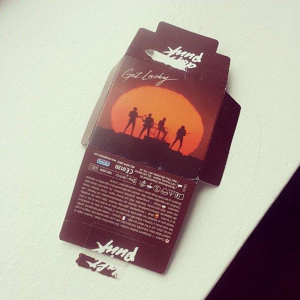 Daft Punk запустили серию презервативов «Get Lucky». Изображение № 1.