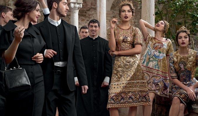 Dolce & Gabbana FW 2013 . Изображение № 1.