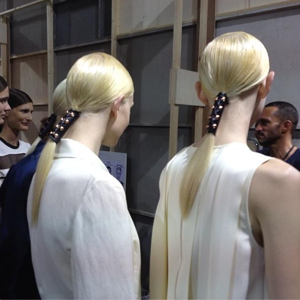 Прямой репортаж  с Paris Fashion Week:  День 1. Изображение № 23.