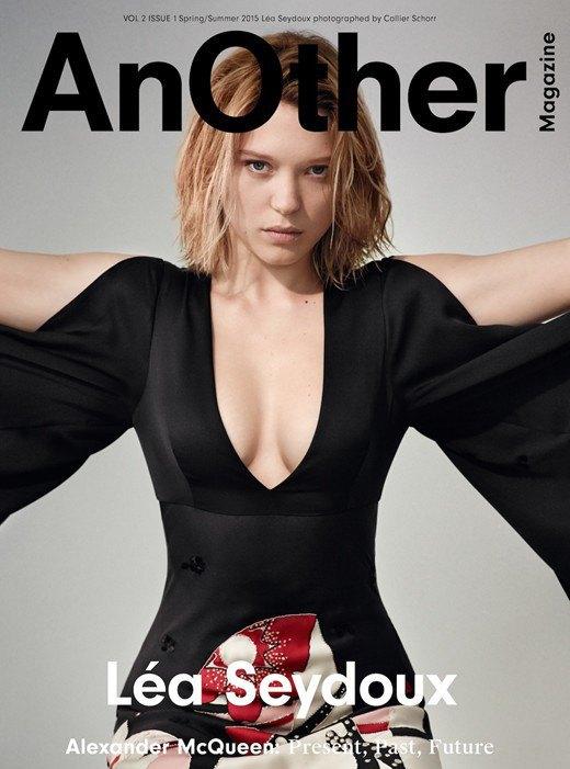 У нового номера AnOther Magazine три обложки, и все посвящены Маккуину. Изображение № 2.