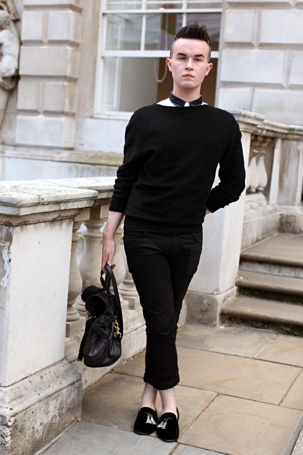 Streetstyle: Неделя моды в Лондоне, часть 1. Изображение № 8.