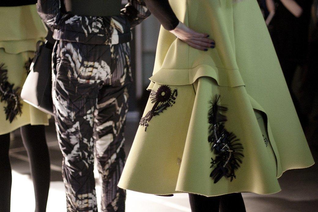 Paris Fashion Week FW 14: Бэкстейдж показа Kenzo. Изображение № 14.