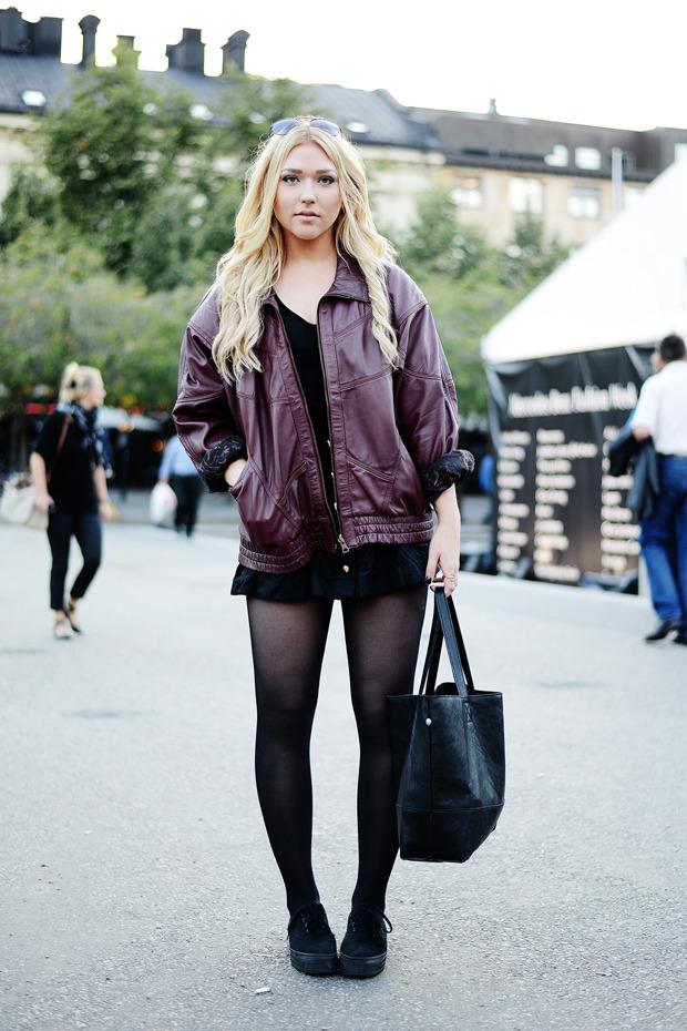 Парни в криперах и девушки в шортах на Неделе моды в Стокгольме . Изображение № 13.