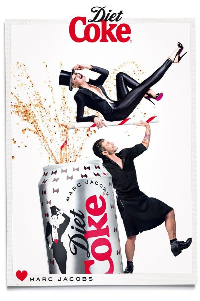 Вышел новый ролик Марка Джейкобса для Diet Cola. Изображение № 2.