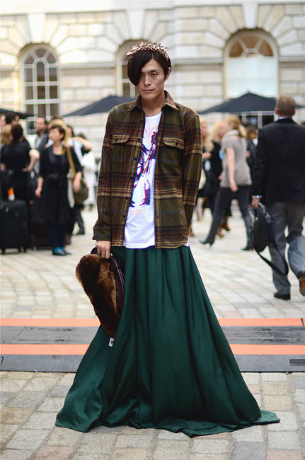 London Fashion Week: Уличный стиль, часть 1. Изображение № 20.