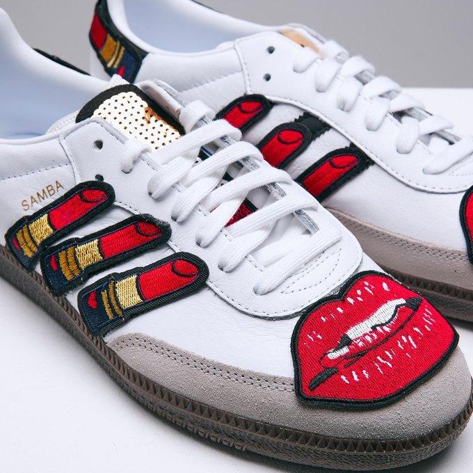 Марк Джейкобс и Белла Фрейд сделали «радужные» кроссовки для adidas. Изображение № 8.