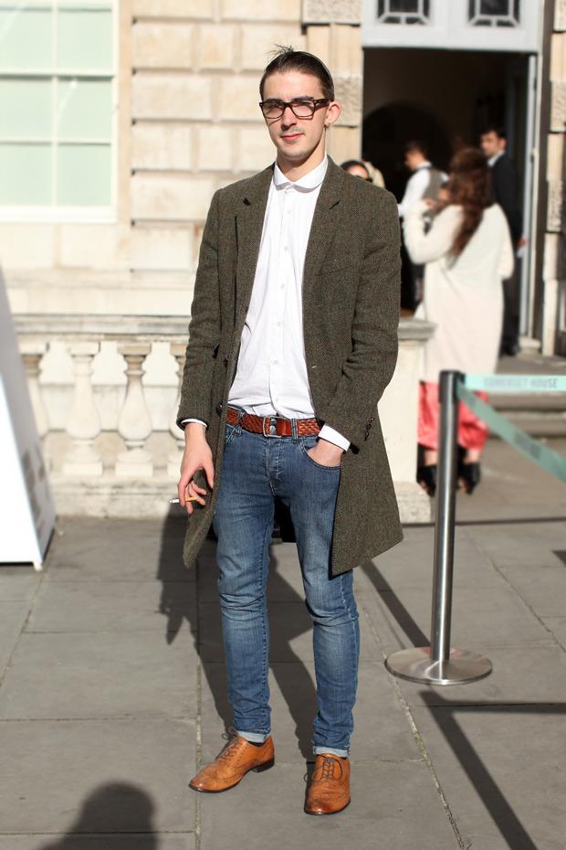 Streetstyle: Неделя моды в Лондоне, часть 1. Изображение № 50.