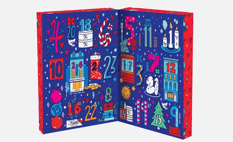 Красивый и полезный адвент-календарь Kiehl's. Изображение № 1.
