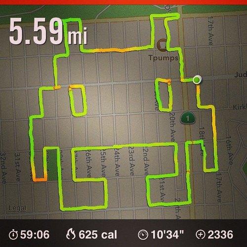 Американка превращает маршруты тренировок Nike+ в рисунки пенисов. Изображение № 9.