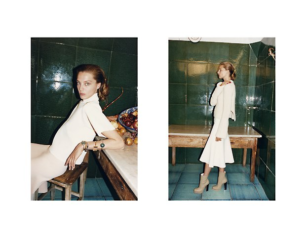 Дарья Вербова в новой рекламе Céline. Изображение № 4.