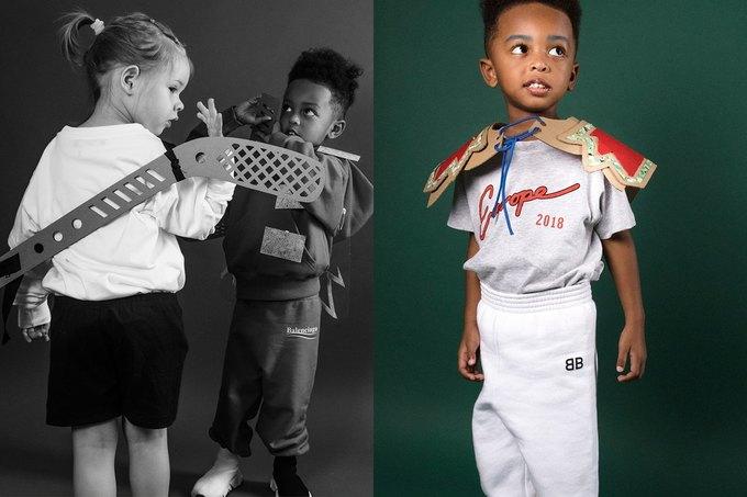 Balenciaga показали яркую детскую коллекцию. Изображение № 3.