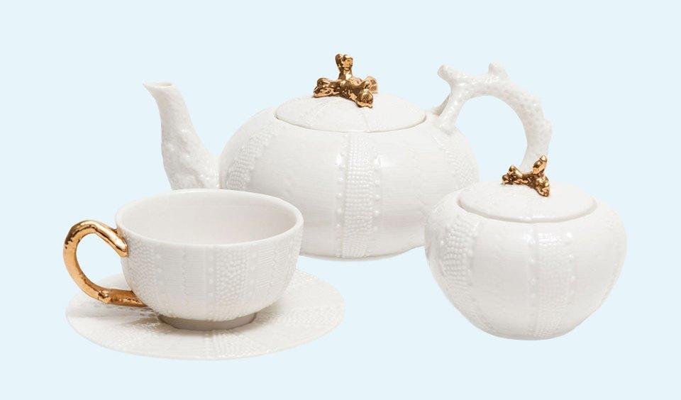И медленно выпил: Красивая посуда для чаепития. Изображение № 2.