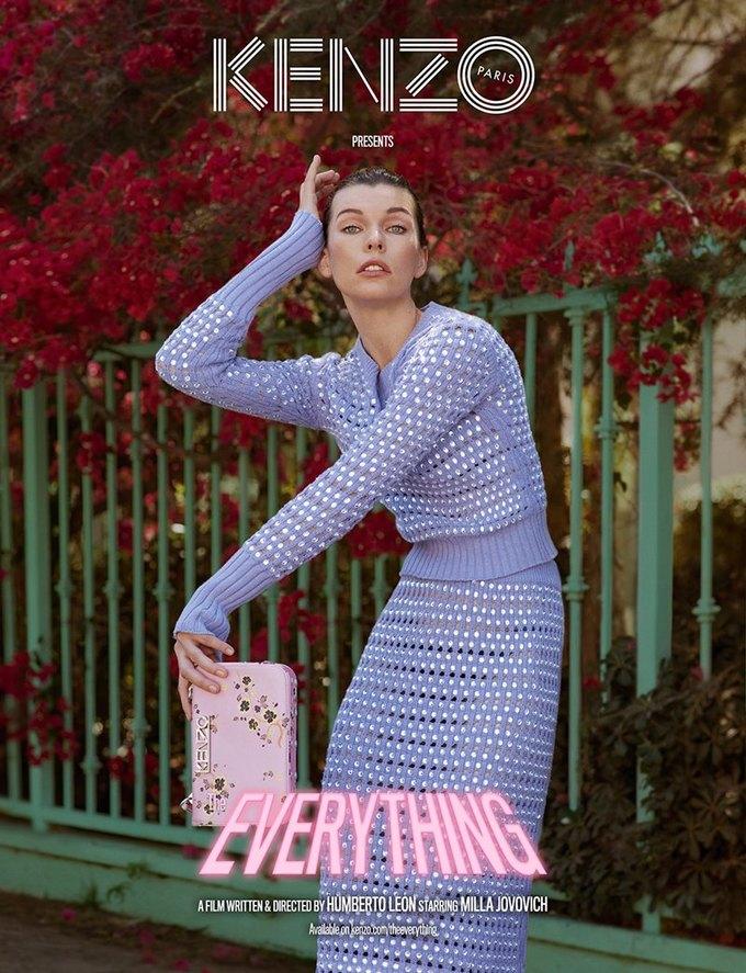 Милла Йовович в трейлере короткометражки Kenzo «The Everything». Изображение № 1.