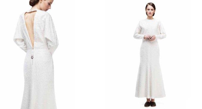 Платья в бельевом стиле в лукбуке KamenskayaKononova. Изображение № 3.