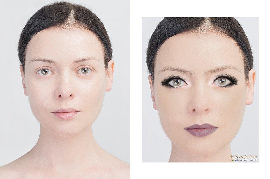 До и после макияжа:  Редакция тестирует  бьюти-приложения. Изображение № 29.