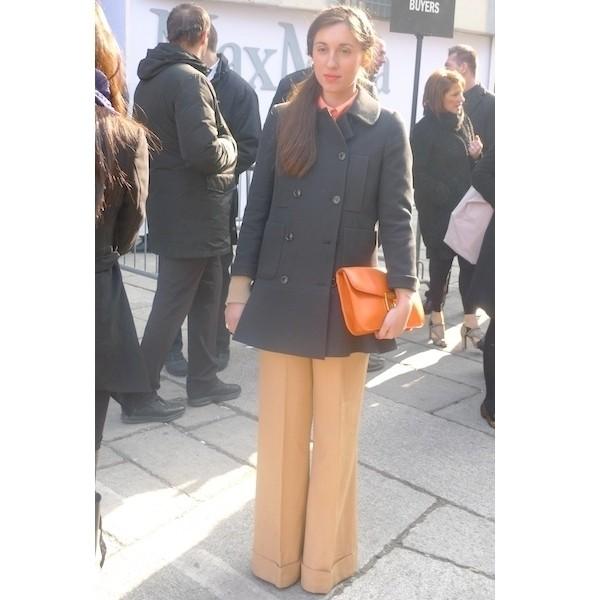 Milan Fashion Week: день второй — луки. Изображение № 13.