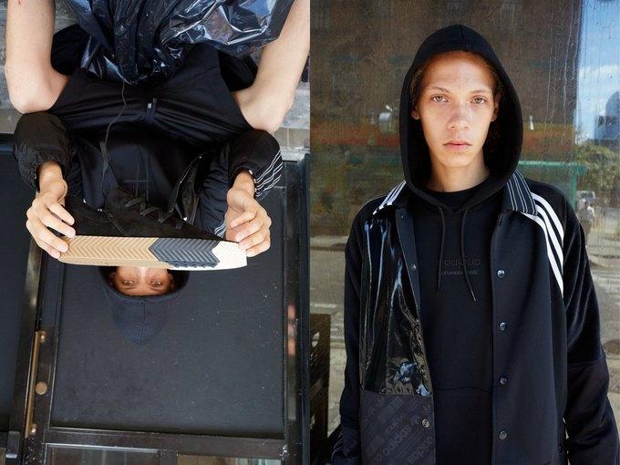 Александр Вэнг х adidas Originals: первые фото  и лукбук. Изображение № 14.